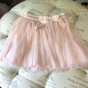 NWT Forever 21 pink tulle mini skirt size small